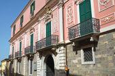 Aquilecchia palace. Melfi. Basilicata. Italy. — Stock Photo
