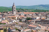Panoramic view of Melfi. Basilicata. Italy. — Stock Photo