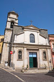 St. carmine kilisesi. melfi. basilicata. i̇talya. — Stok fotoğraf