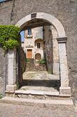 Historical palace. Melfi. Basilicata. Italy. — Stock Photo