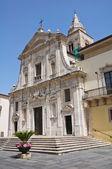 Catedral de santa maría assunta. melfi. basilicata. italia. — Foto de Stock