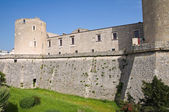 Castle of Venosa. Basilicata. Italy. — Stock Photo