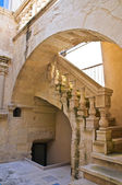 Casa a Corte. Lecce. Puglia. Italy. — Stock Photo