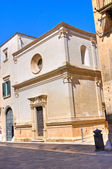 Church of St. Elisabetta. Lecce. Puglia. Italy. — Stock Photo
