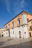 дворец кальвино. веноза. базиликата. италия. — Стоковое фото