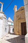 Church of St. Demetrio. Ceglie Messapica. Puglia. Italy. — Stock Photo