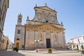 Kirche des heiligen rocco. ceglie messapica. puglia. italien. — Stockfoto