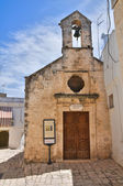 Annunziata Kilisesi. Ceglie messapica. Puglia. İtalya. — Stok fotoğraf