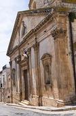 教会的圣 gioacchino。ceglie messapica。普利亚大区。意大利. — 图库照片