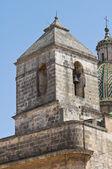 Iglesia de santa chiara. francavilla fontana. puglia. italia. — Foto de Stock