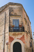 дворец clavica-guarini. франкавилла-фонтана. апулия. италия. — Стоковое фото