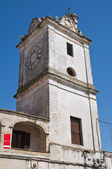 Clocktower. Francavilla Fontana. Puglia. Italy. — Stock Photo