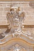 Kościół ss. rosario. Francavilla fontana. Puglia. Włochy. — Zdjęcie stockowe