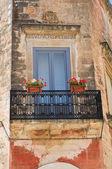 Palacio clavica-guarini. francavilla fontana. puglia. italia. — Foto de Stock