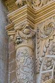 Imperiali slott. francavilla fontana. puglia. italien. — Stockfoto