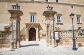 Imperiali castillo. francavilla fontana. puglia. italia. — Foto de Stock