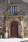 Salerno-palast. francavilla fontana. puglia. italien. — Stockfoto