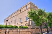 Imperiali castle. Francavilla Fontana. Puglia. Italy. — Stock Photo