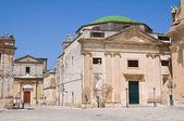 Church of St. Chiara. Francavilla Fontana. Puglia. Italy. — Stock Photo