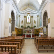 Church of St. Carmine. Melfi. Basilicata. Italy. — Stock Photo