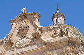 Basilica of SS. Rosario. Francavilla Fontana. Puglia. Italy. — Stock Photo