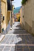 Vico gradelle. melfi. basilicata. italia. — Foto Stock