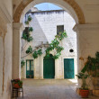Historical palace. Specchia. Puglia. Italy. — Stock Photo