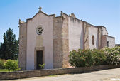 Church of St. Nicola. Specchia. Puglia. Italy. — Stock Photo