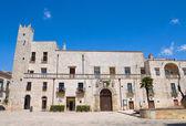 Risolo palace. Specchia. Puglia. Italy. — Stock Photo