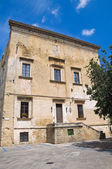 Gallone palace. Tricase. Puglia. Italy. — Stock Photo