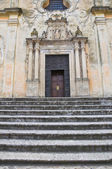 Church of St. Domenico. Tricase. Puglia. Italy. — Stock Photo