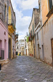 Alleyway. Tricase. Puglia. Italy. — Stock Photo