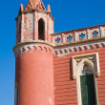 Villa Mellacqua. Santa Maria di Leuca. Puglia. Italy. — Stock Photo #26136147