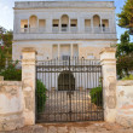 Villa Loreta Stefanachi. Santa Maria di Leuca. Puglia. Italy. — Stock Photo #26139137