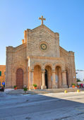Church of Cristo Re. Santa Maria di Leuca. Puglia. Italy. — Stock Photo