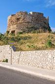 Omomorto tower. Santa Maria di Leuca. Puglia. Italy. — Stock Photo