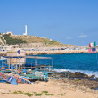 Panoramic view of Santa Maria di Leuca. Puglia. Italy. — Stock Photo