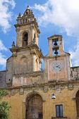 Clocktower. Tricase. Puglia. Italy. — Stock Photo