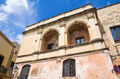Historical palace. Tricase. Puglia. Italy. — Stock Photo