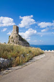 Nasparo Tower. Tiggiano. Puglia. Italy. — Stock Photo