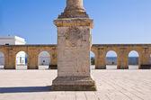 Column of Santa Maria di Leuca. Puglia. Italy. — Stock Photo