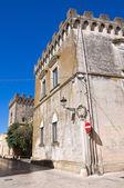 Arditi castle. Presicce. Puglia. Italy. — Stock Photo