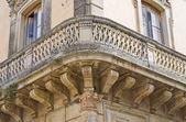 House of Giuseppe Pisanelli. Tricase. Puglia. Italy. — Stock Photo