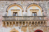 Manieri palace. Ugento. Puglia. Italy. — Stock Photo