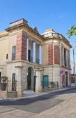 Historical house. Santa Maria di Leuca. Puglia. Italy. — Stock Photo