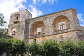 Castle of Ugento. Puglia. Italy. — Stock Photo