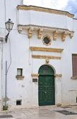 Historical palace. Presicce. Puglia. Italy. — Stockfoto