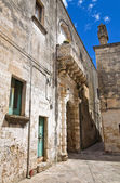 Soronzi palace. Presicce. Puglia. Italy. — Stock Photo
