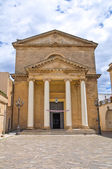 Cathedral of Ugento. Puglia. Italy. — Stock Photo