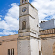 Стоковое фото: Clocktower. Felline. Puglia. Italy.